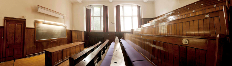 A lecture theatre in the Beyer building