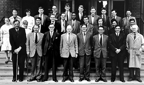 University of Manchester, Department of Geology 1961 staff photo