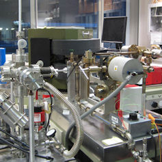 Scientific equipment in a laboratory